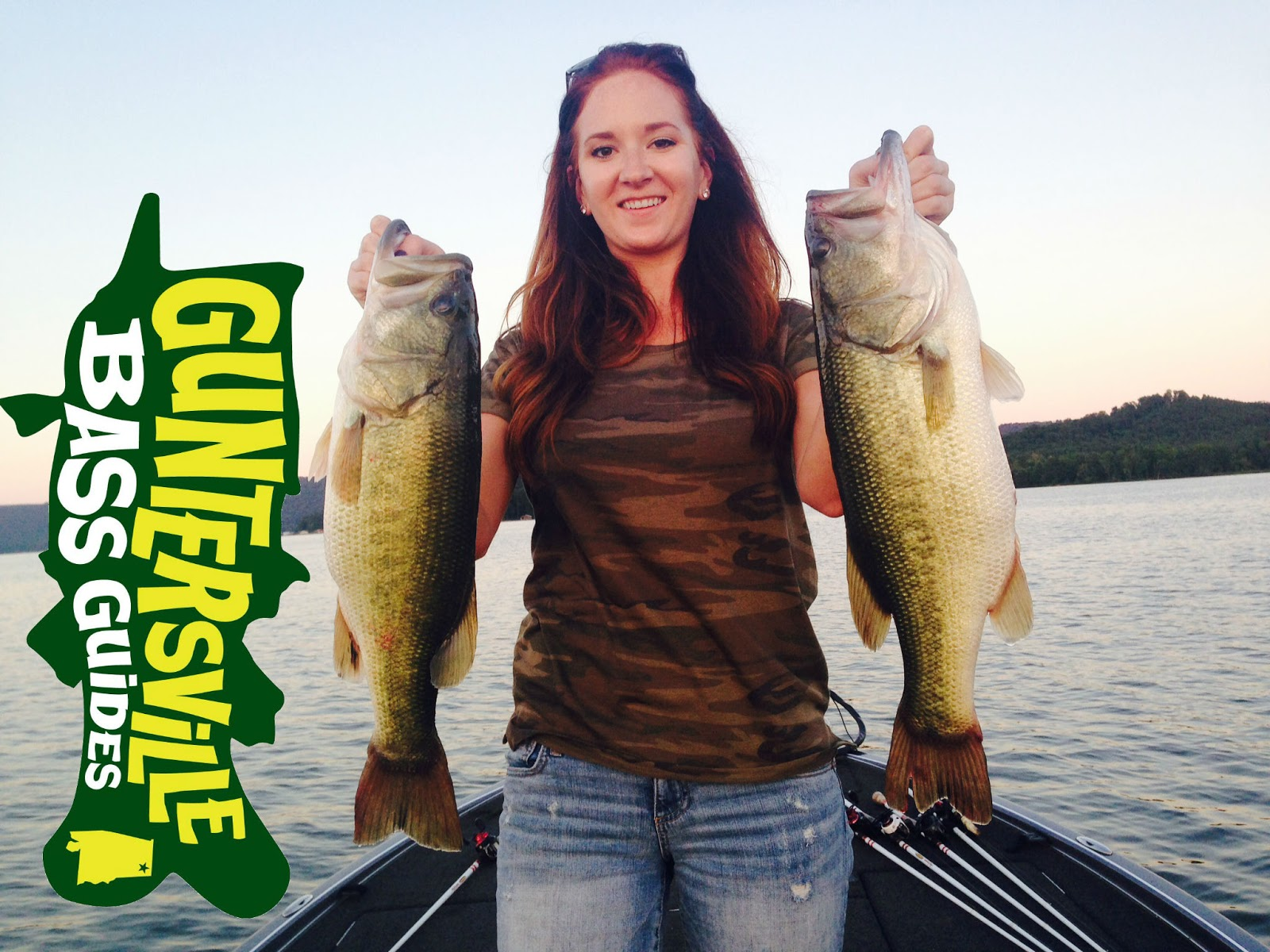 Lake guntersville fishing report for Fishing report lake guntersville