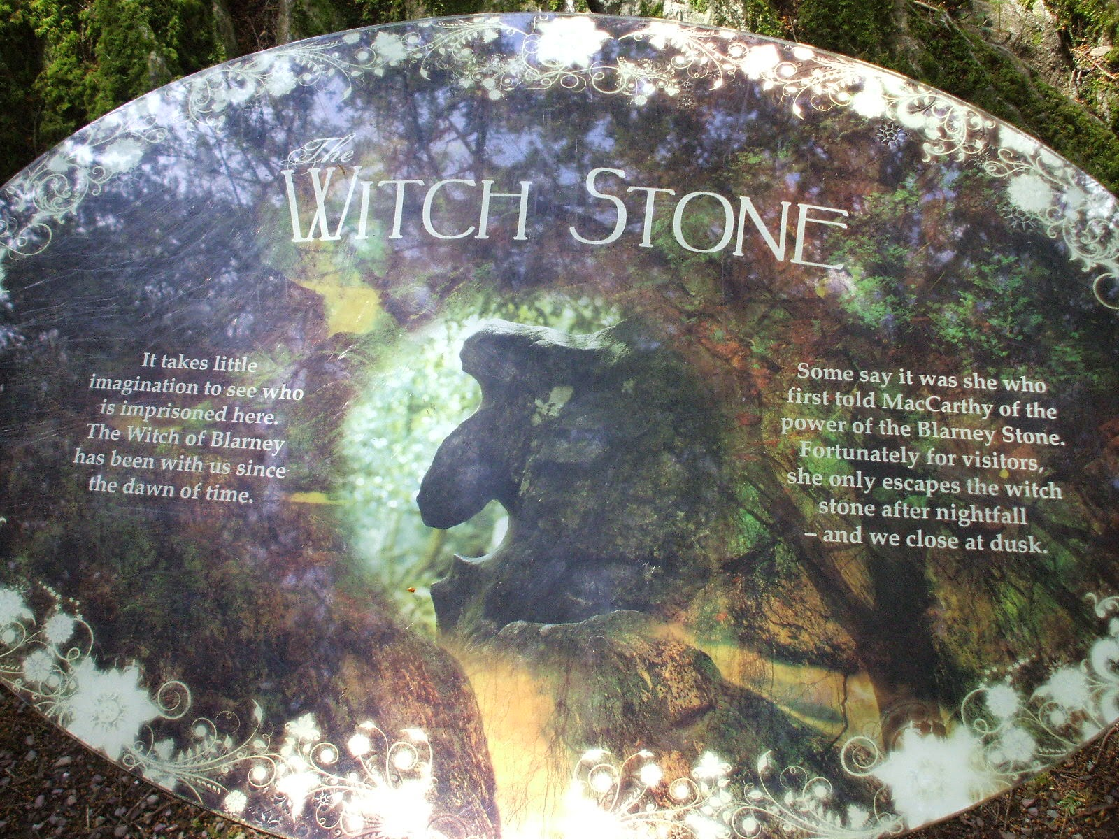 The On Line Buzzletter Ireland Trip 55 Witches 39 Garden