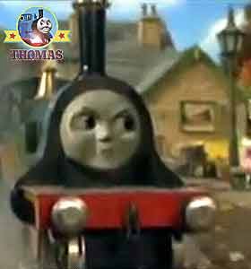 Bertie the bus service hadn't arrived at the Marthwait railway station Thomas the tank engine Emily