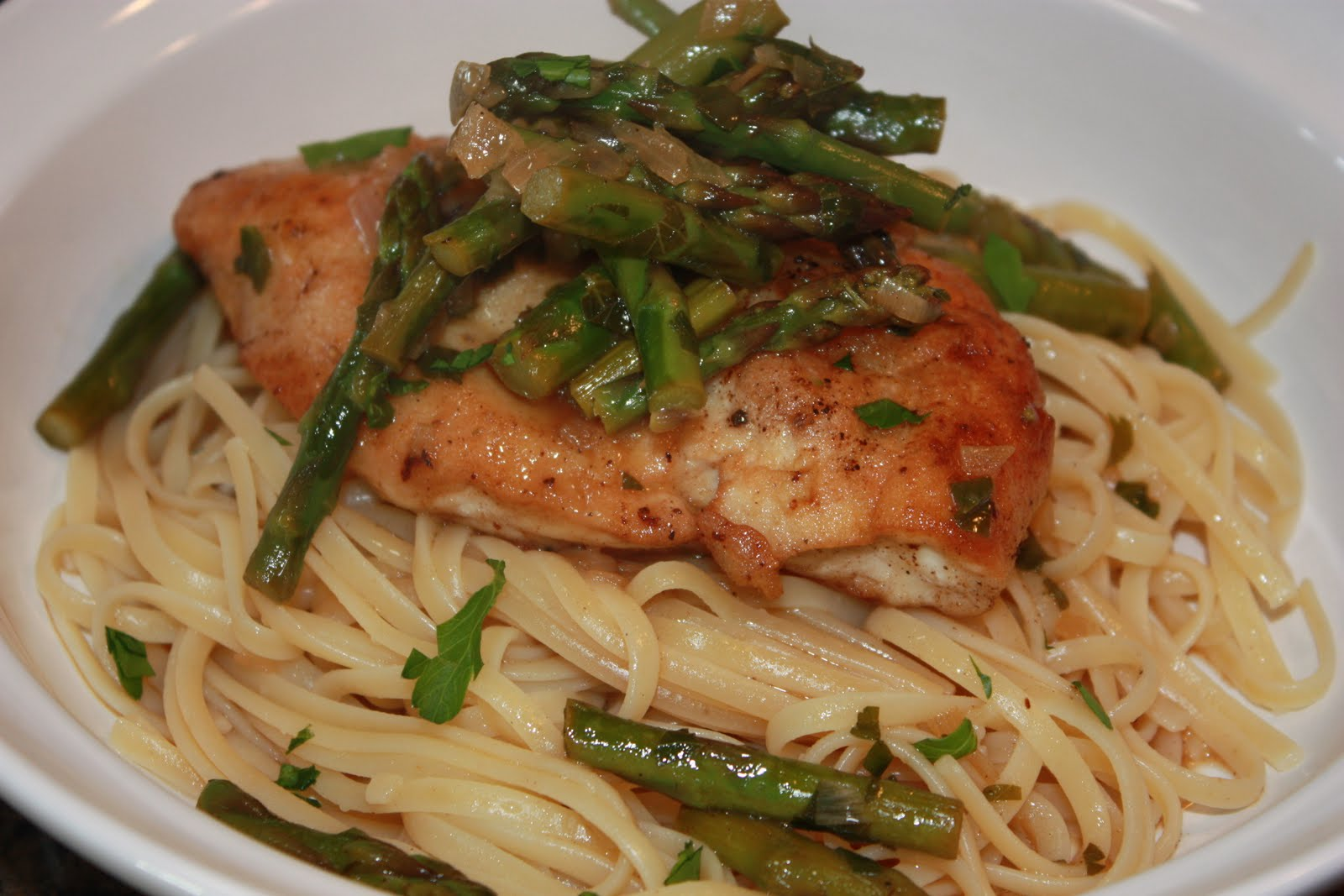 Hungry For More: Chicken Scallopini with Asparagus
