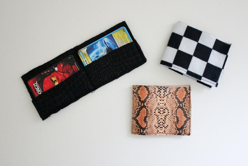 Sew Easy Boy\'s Wallet Pattern