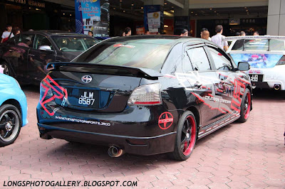 modified Toyota vios