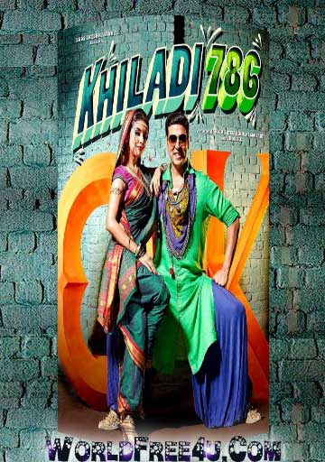 Poster Of Khiladi 786 (2012) All Full Music Video Songs Free Download Watch Online At worldfree4u.com