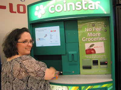 BiLo, Coinstar, No Fee