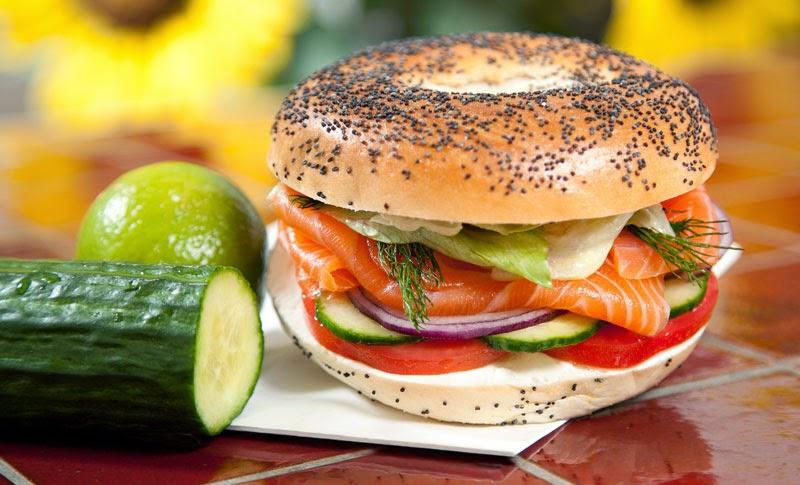 Mincir avec thermomix - Spécial régime DUKAN : Bagels au saumon et ...