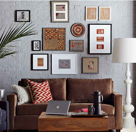 Decorando con fotos s l o a n e s t r e e t - Cuadros para encima del sofa ...