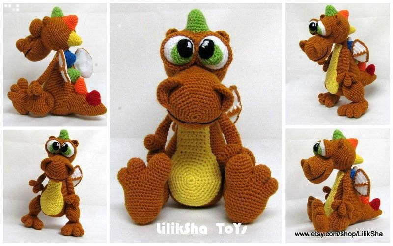 Amigurumi Dragon Gratuit : Les bidouilles dAndree: le 29 fev 2012 dragon crochet