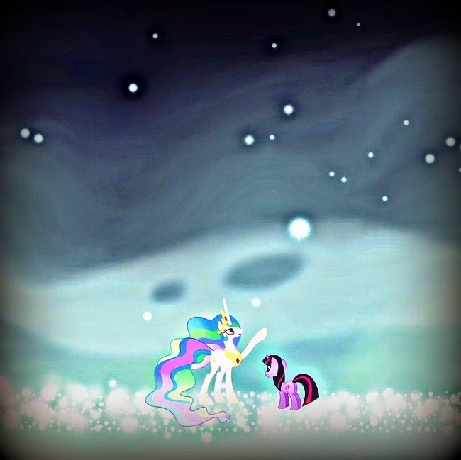 My Little Pony: Friendship is Magic Magic Mystery Cure Twilight Sparkle Princess and Celestia