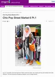 Featured In Msn Malaysia Life And Style - Fashion Streetsnaps 24/01/2011