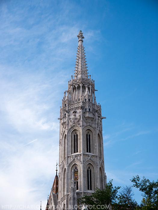 Tower of the Matthias church.