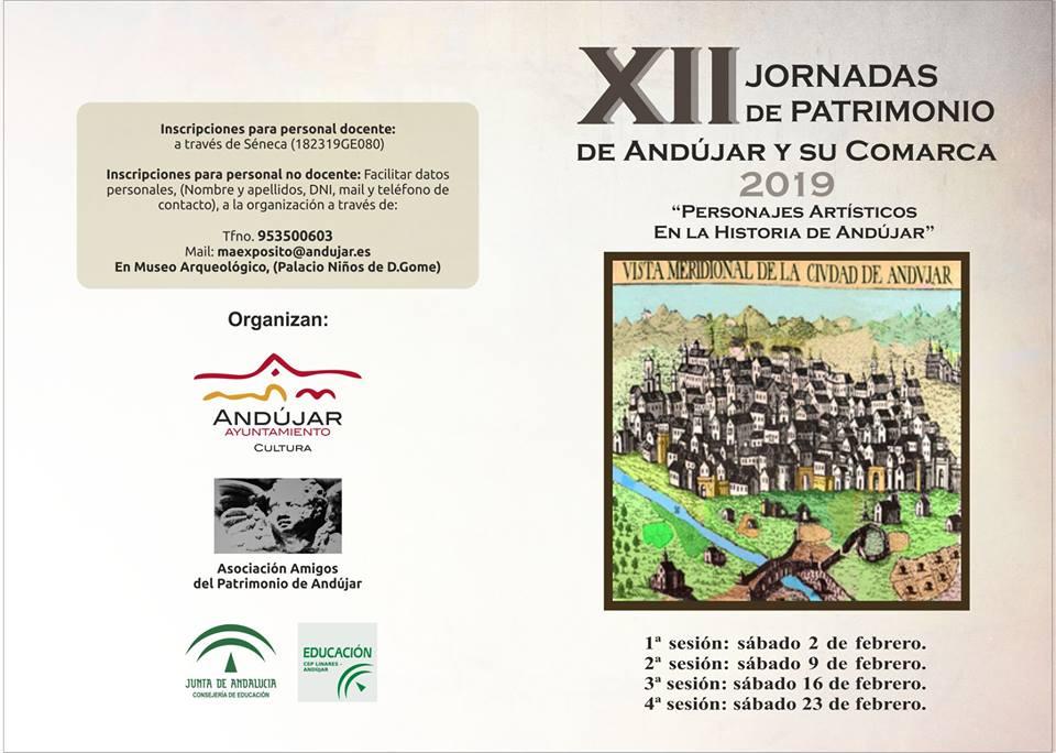 XII jornadas de patrimonio de Andújar y comarca
