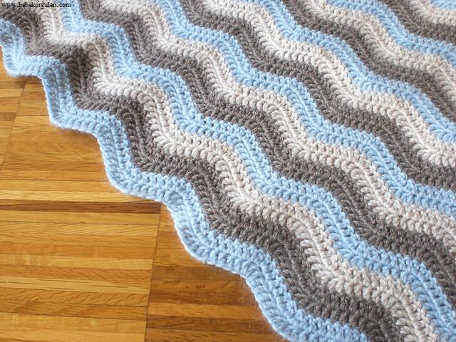 en güzel bebek battaniye modelleri - 12