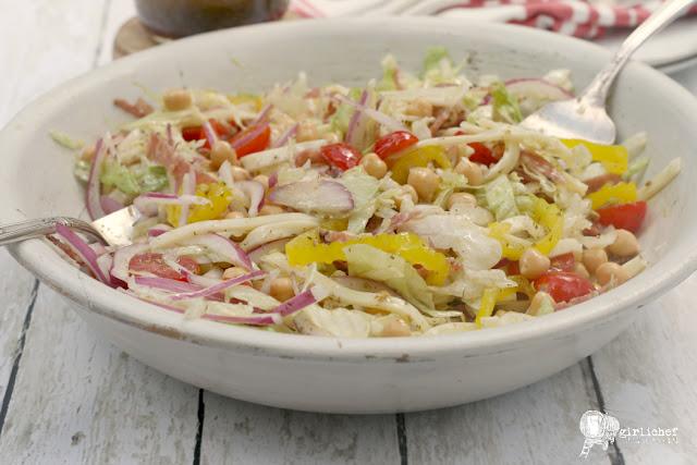 Chopped Salad with Oregano Vinaigrette