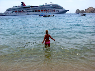 Carnival Splendor Cruise Ship in Cabo San Lucas, Mexico www.thebrighterwriter.blogspot.com