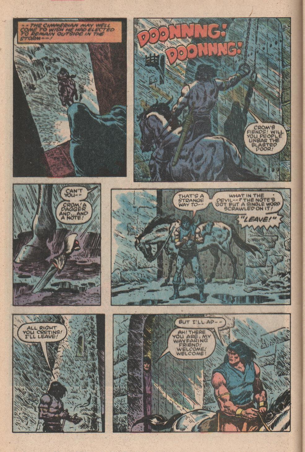 Conan the Barbarian (1970) Issue #156 #168 - English 3