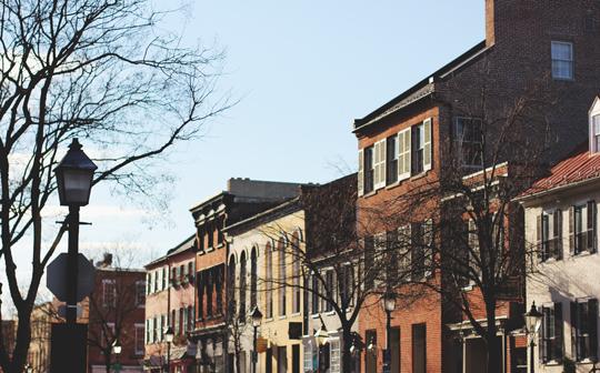 Old Town Alexandria, VA shops