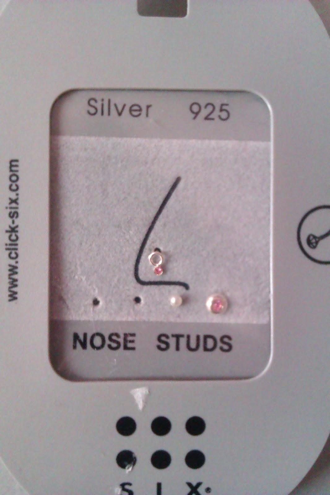 zilveren oorbellen six