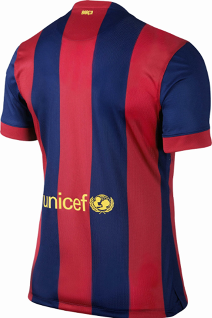 Jersey GO Barcelona Home 2015