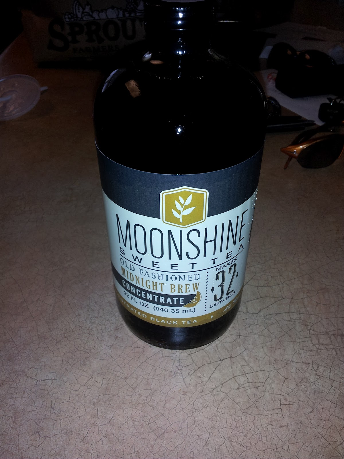 Texan's Tasty Treats: Moonshine Sweet Tea