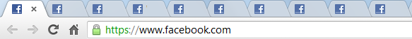 Multiple tabs opened simultaneously for facebook