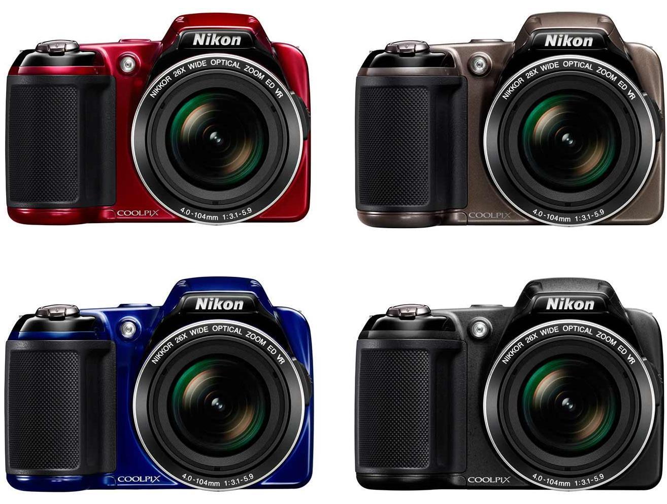 Nikon Coolpix L810 Compact Super-Zoom Digital Camera Review, Photos