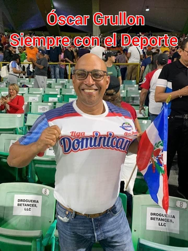 OSCAR GRULLON SIEMPRE CON EL DEPORTE