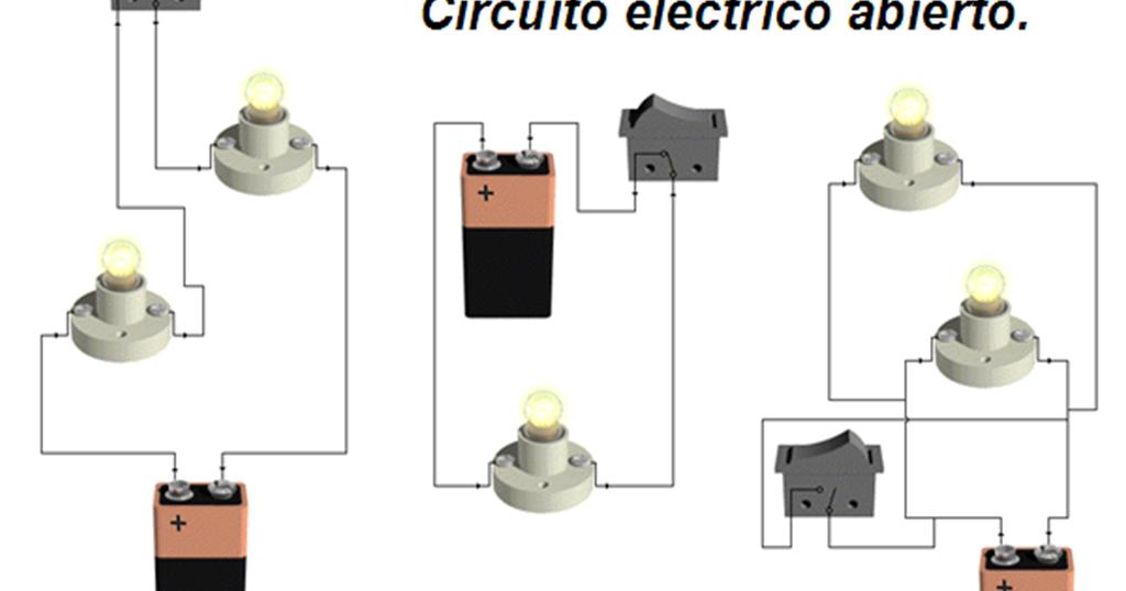 Circuito Basico : Aprendiendo fisica circuito electrico