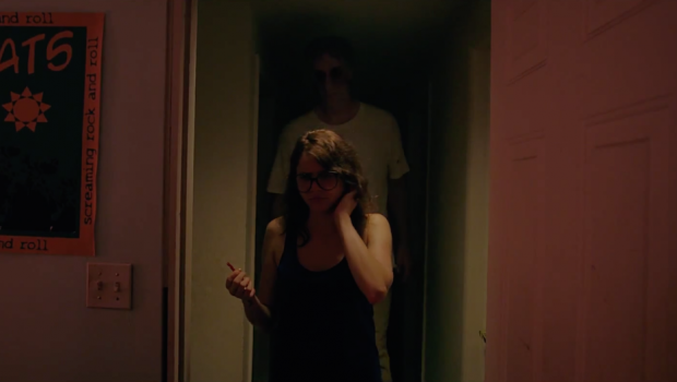 "the common slasher film tropes in it follows a horror film The final girls is the nadir of meta-horror,  but these things have more in common  is quoted heralding the film as ""a love letter to the '80s slasher film."