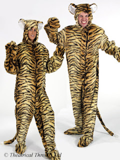 Adult Tiger ladies or mens Fur Costume from Theatrical Threads Ltd