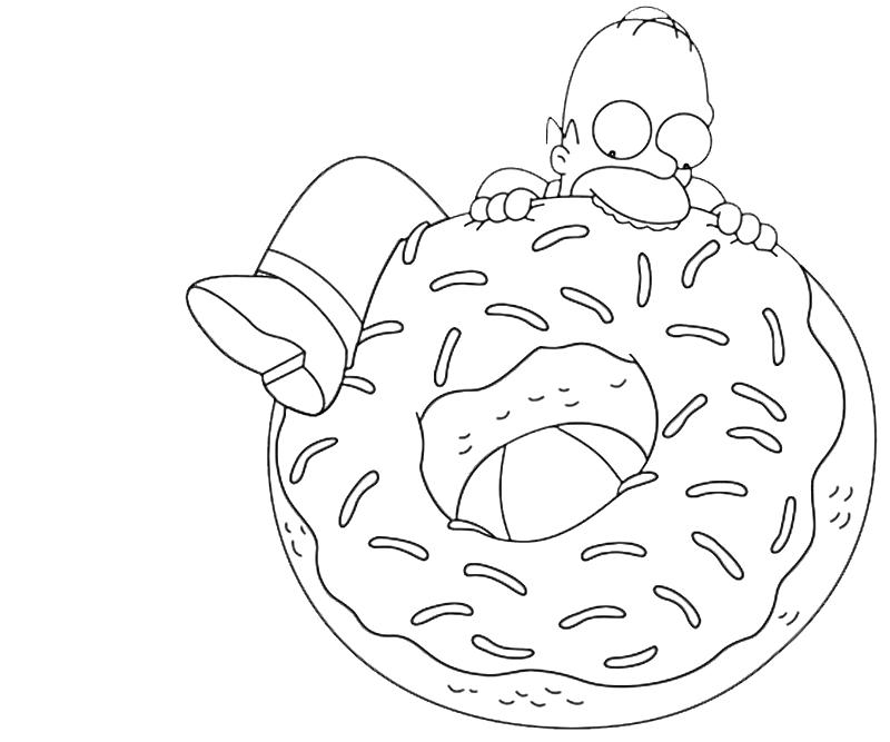 homer simpson halloween coloring pages - photo#29