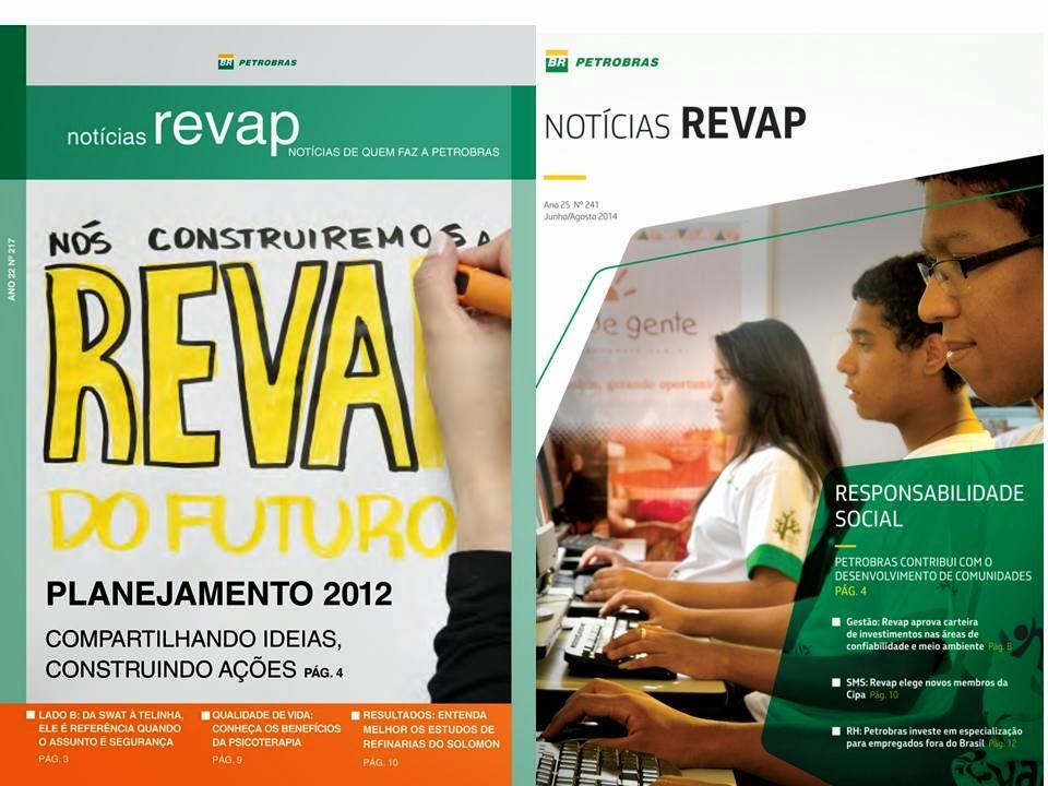 Jornal Notícias Revap (publicação interna da Petrobras)