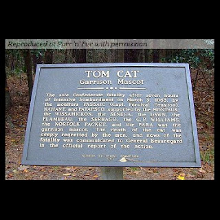 Tom Cat Memorial Plaque 1860's