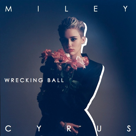 just cd cover miley cyrus wrecking ball mbm single cover