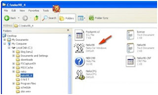 Cara Download dan Instal Neko Animasi kursor for Windows XP/ Windows 7