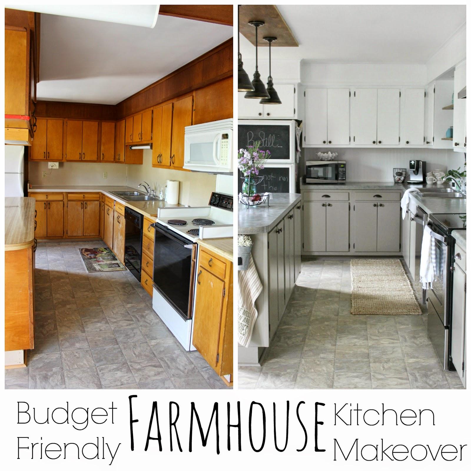 Farmhouse Kitchen: Grace Lee Cottage: Farmhouse Kitchen Makeover