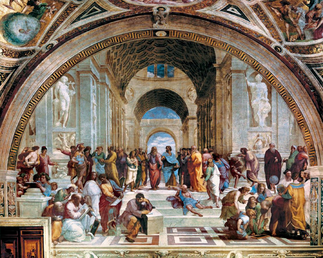 pensarti raffaello e la decorazione delle stanze vaticane