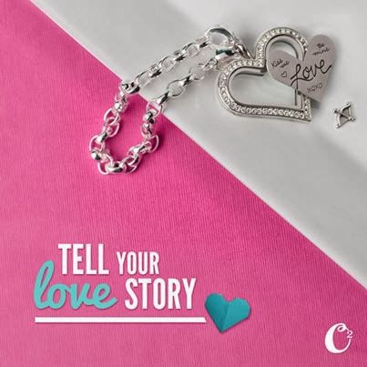 Origami Owl Heart Locket Bracelet | StoriedCharms.com