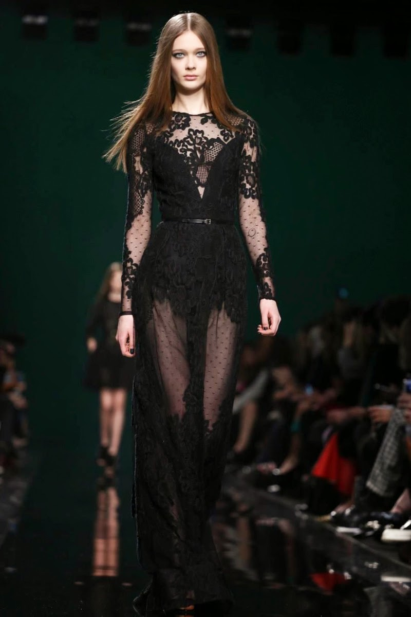 Designer Evening Dresses: Elie Saab Fall Winter Ready to Wear 2014