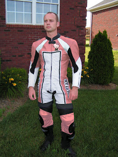 Hello Kitty motorcycle gear