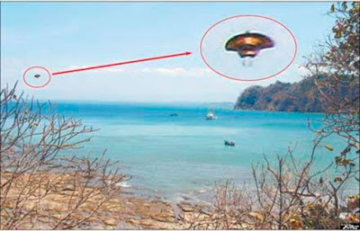 UFO Sighting Caught above Ocean In Mexico 2015, UFO Sightings