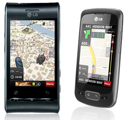 NDrive to provide navigation app for the LG Optimus Phones