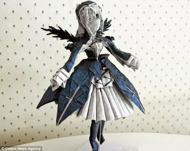 Suigintou - Rozen Maiden Origami