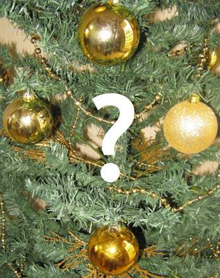 Bolas de Natal e uma Interrogação - foto de Jean Tosetto