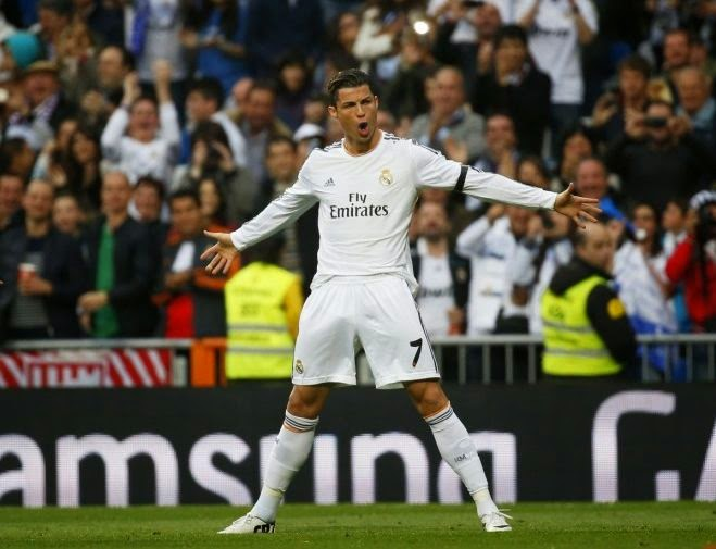 Cristiano Ronaldo New Record Goals Champions League