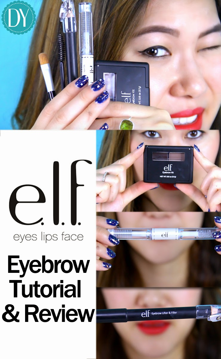 Decorateyou Elf Eyebrow Kit Review How I Fill In My Eyebrows Tutorial