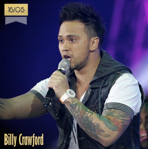 16 de mayo | Billy Crawford - @BillyCrawford | Info + vídeos