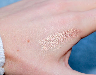 maquillage avec high shine trio bareminerals test swatch avis