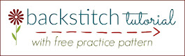 learn simple backstitch