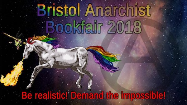 Bristol bookfair 2018 poster