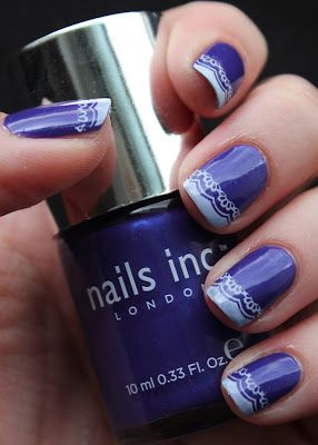 Nails inc Lowndes Court and Bundle Monster BM18 plate